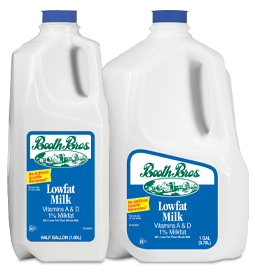 Booth Bros. Lowfat Milk - Dec 2019